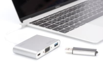 USB 3.0 Type-C VGA Multiport Adapter with Power Delivery