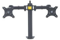 LCD Monitor Mount with Double-Link Swing Arms, supports 2 monitors