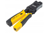Universal Modular Plug Crimping Tool and Cable Tester