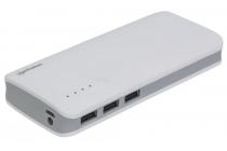 Powerbank 10,000 mAh 3 x USB Type A 2A outputs