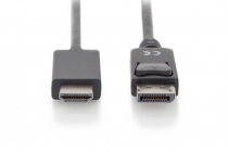 1 m DisplayPort Adapter Cable, DP – HDMI type A