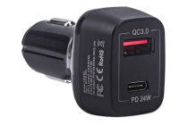 Type C & A Power Delivery Car Charger – 42 W