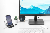 DIGITUS USB-C™ Smartphone Docking Station, 7 Port