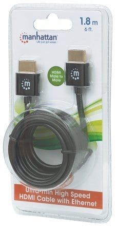 1 8m Ultra-thin High Speed HDMI Cable with Ethernet